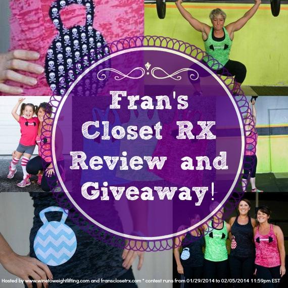 frans closet rx review giveaway