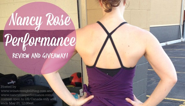 nancy rose review giveaway