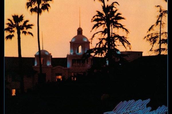 Hotel California Album cover location