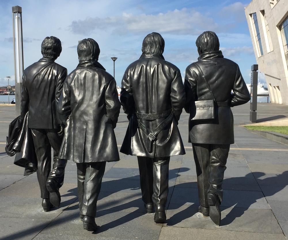 Beatles Statue Back
