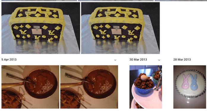 Google Photos - Cakes