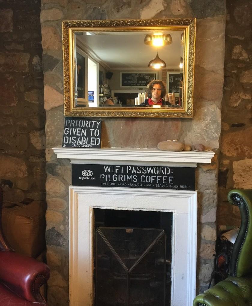 Free Wifi at Pligrims Coffee