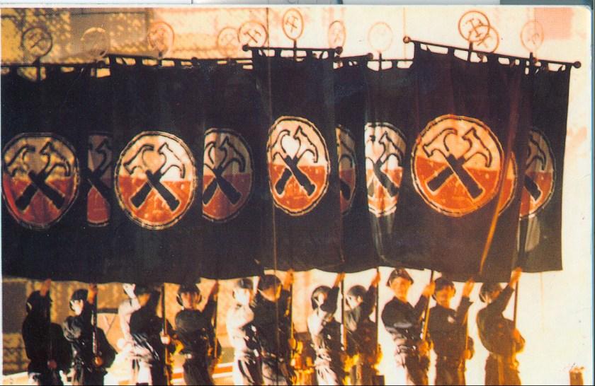 Pink Floyd The Wall Hammers Posctard