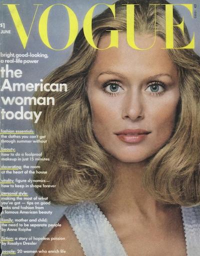 Lauren Hutton Vogue Cover