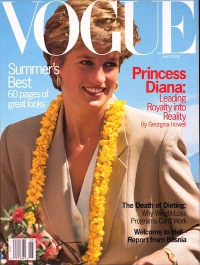 Princess Diana Vogue Cover