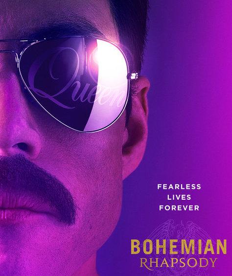 Bohemian Rhapsody Movie Poster