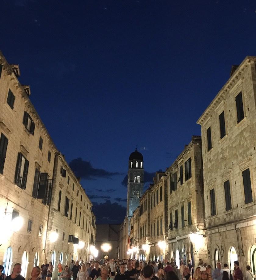Dubrovnik at night
