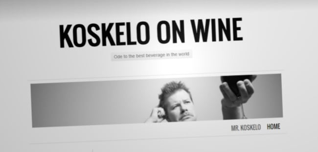 Koskelo on Wine