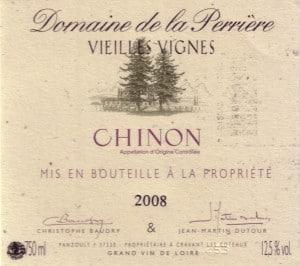 old world wine label
