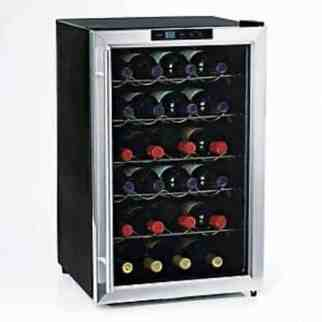 Wine Enthusiast Silent 28 Bottle Wine Refrigerator