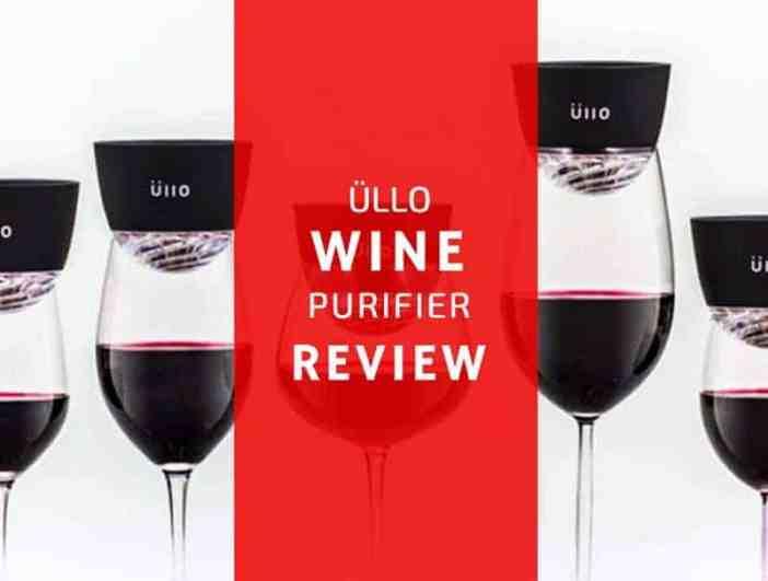 an honest review of the Üllo wine purifier - wine turtle