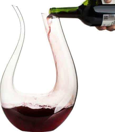 Wine Decanter, WBSEos 1.5L U Shape Classic