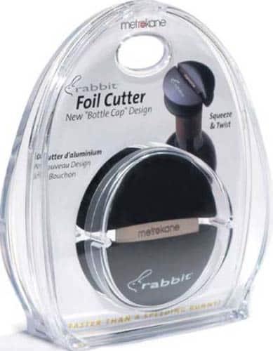 Metrokane Rabbit Wine Bottle Foil Cutter