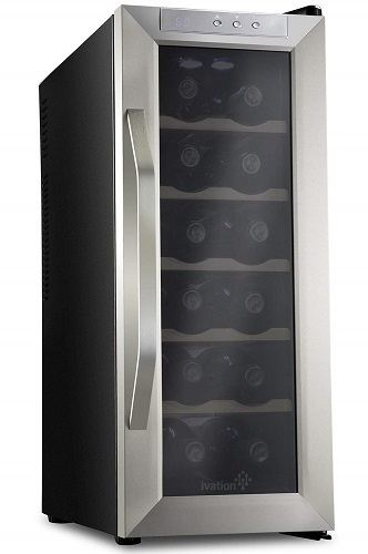 Ivation Premium 12-Bottle Wine Cooler