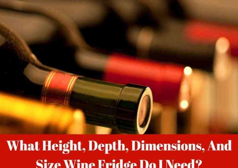 Wine Fridge Depth