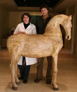 Adolfo Hornos y Teresa Delgado