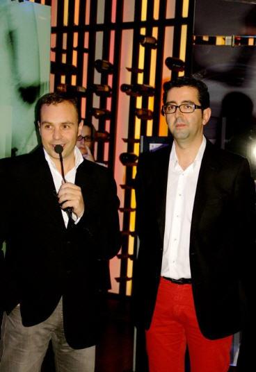 Pedro Martínez y Joaquín Parra