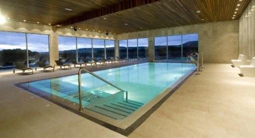 Vista piscina activa