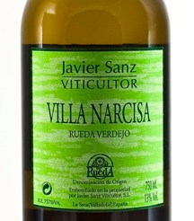 Botella Villa Narcisa Rueda Verdejo - copia