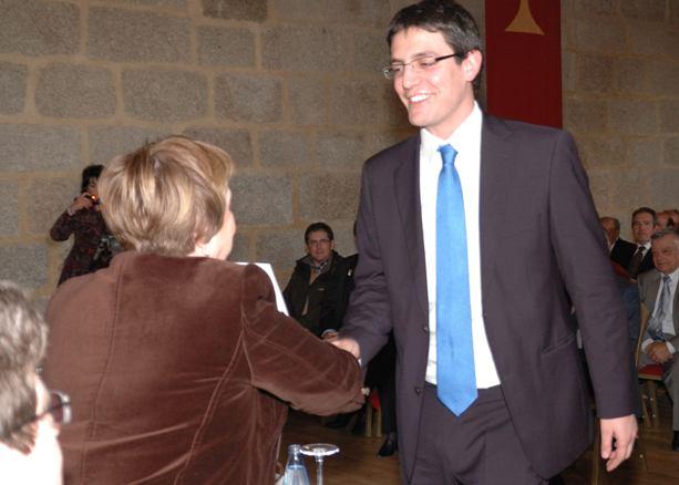 Federico Lucendo con Isabel Mijares