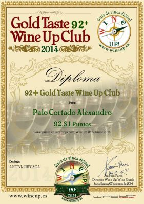 AECOVI JEREZ 152.gold.taste.wine.up.club