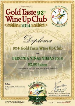 BERONIA GB 175.gold.taste.wine.up.club