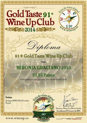BERONIA GB 182.gold.taste.wine.up.club