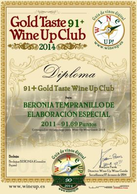 BERONIA GB 205.gold.taste.wine.up.club