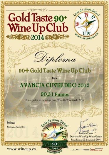 BODEGAS AVANTHIA 405.gold.taste.wine.up.club