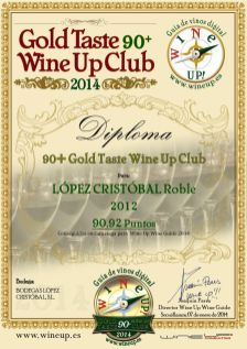 BODEGAS LOPEZ CRISTOBAL 307.gold.taste.wine.up.club