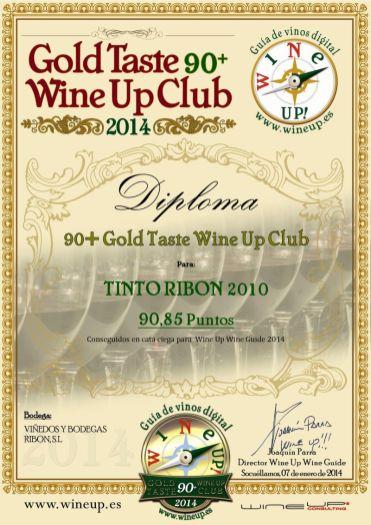 BODEGAS Y VIÑEDOS RIBON 326.gold.taste.wine.up.club