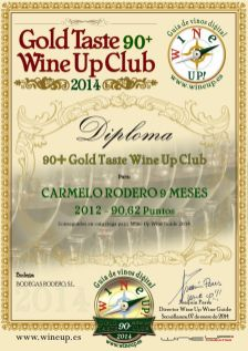 CARMELO RODERO 357.gold.taste.wine.up.club