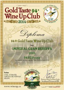 CVNE 31.gold.taste.wine.up.club
