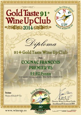 cognac Francois 1er - 213.gold.taste.wine.up.club