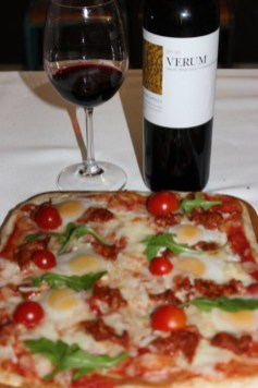 Verum Coupage tinto y pizza la venta
