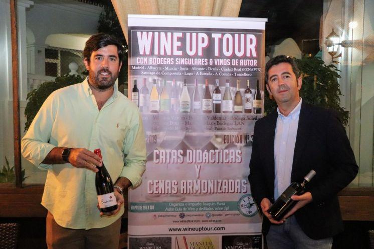 #WineUpTour otoño 2019 en Asador Verum jorge y joaquin