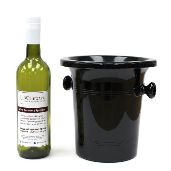 Standard Black Plastic Wine Spittoon 2l - Funnel