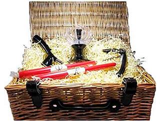 valentines gift hamper for wine lovers