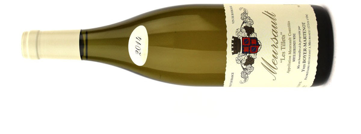 MEURSAULT MAGIC: BOYER-MARTENOT MEURSAULT LES TILLETS 2014
