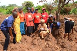 Image result for Agricultural project launched to empower displaced persons