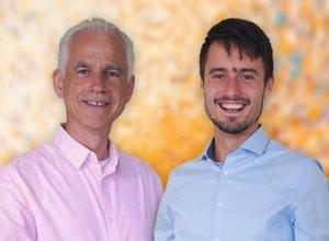 Die Coaches Winfried und Dawid