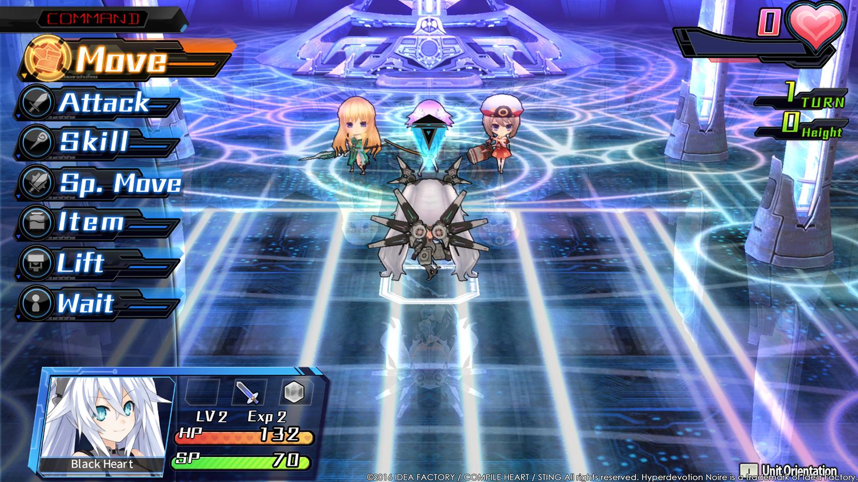 Anime Wallpaper Steam Hyperdevotion Noire Goddess Black Heart Wingamestore Com