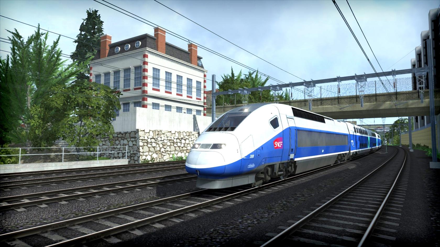 TGV Voyages Train Simulator