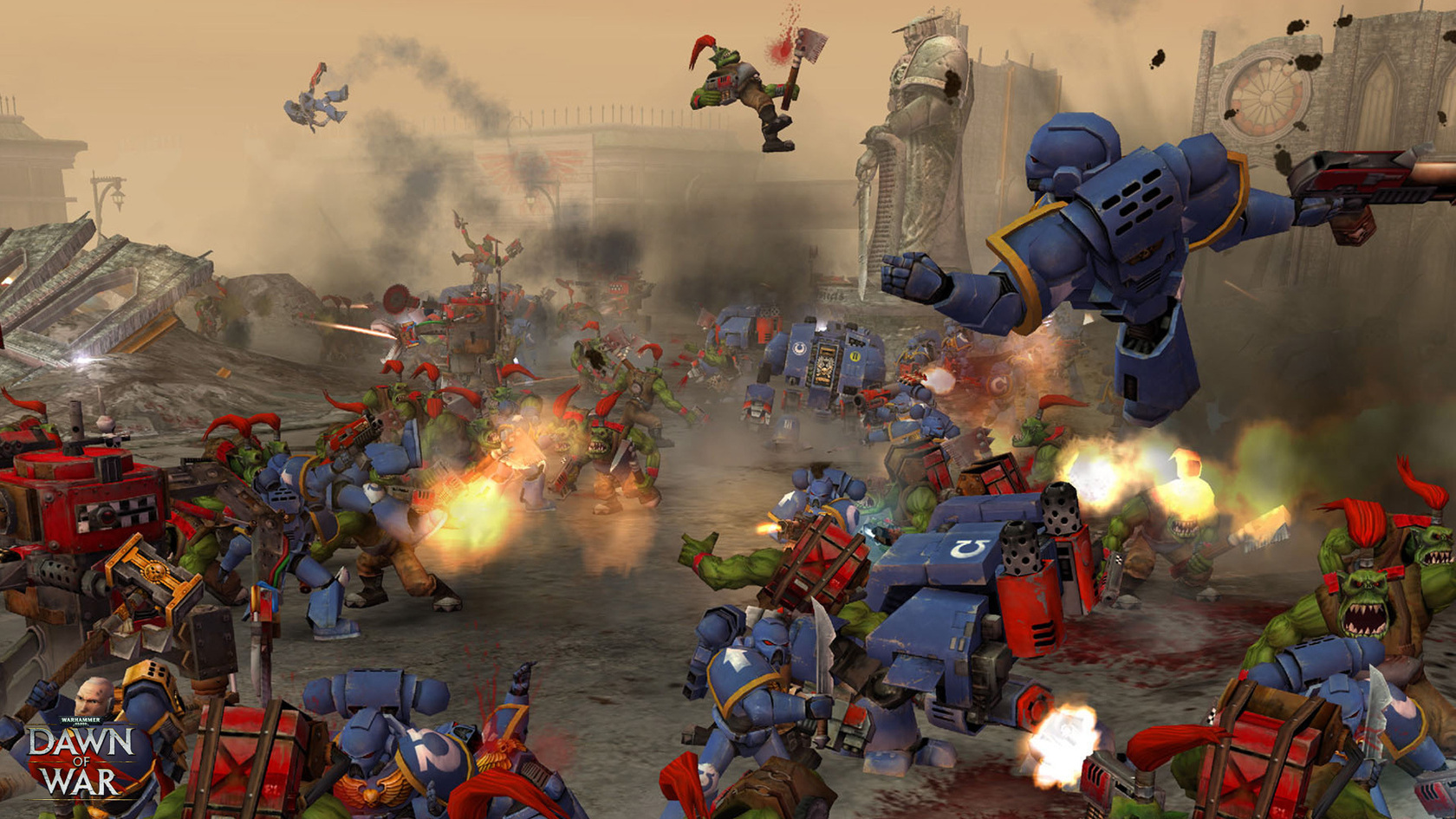Warhammer® 40,000™: Dawn of War® - Game of the Year Edition   wingamestore.com
