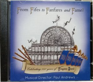The Famous Wingates Band CD - From Fifes to Fanfares and Fame.