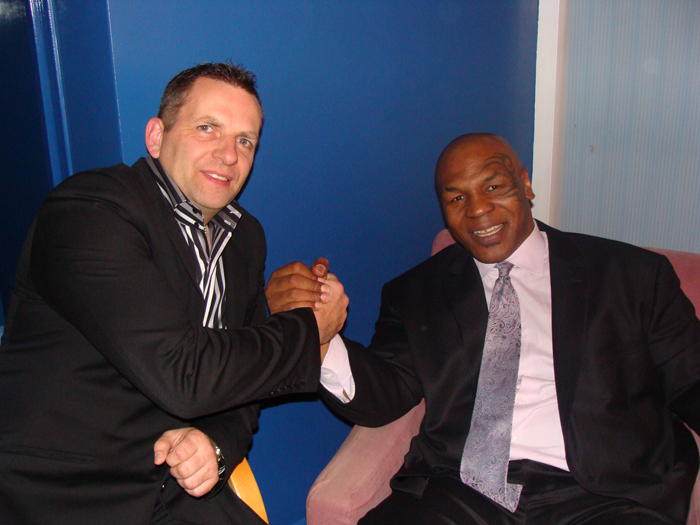 Mike Tyson meets Master Taylor