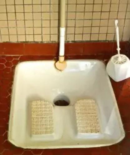 Squat toilets in Asia