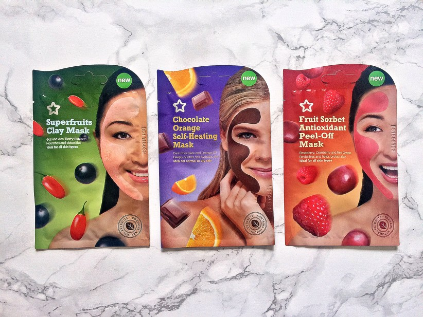 Three Superdrug Facial Masks Giveaway www.wingitwithjade.com