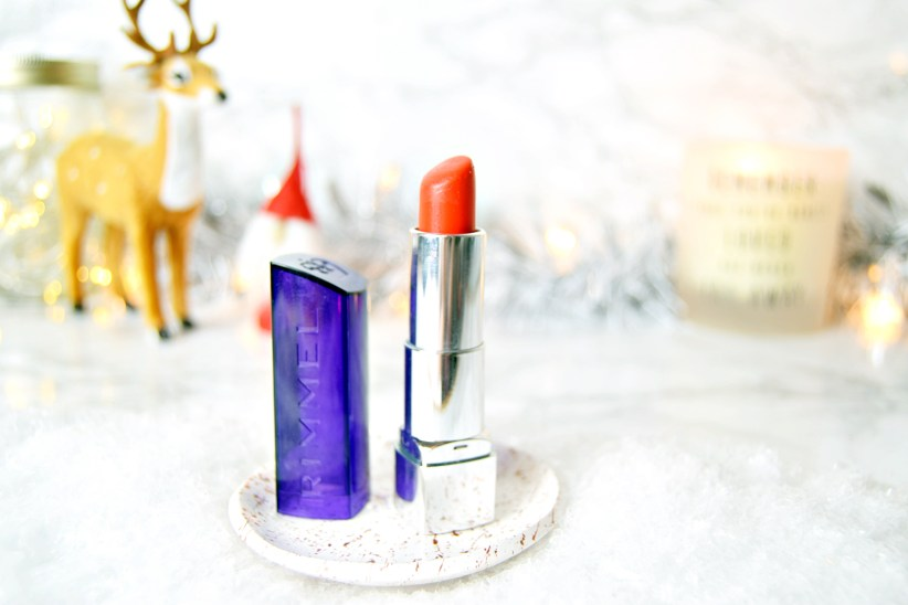 Rimmel In Love With Ginger - Top Five Festive Lipsticks - www.wingitwithjade