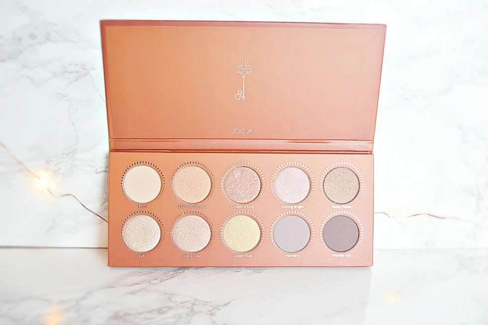 Zoeva Rose Gold Palette - New Year Giveaway - www.wingitwithjade